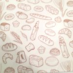 Bakery Print White Greaseproof Paper