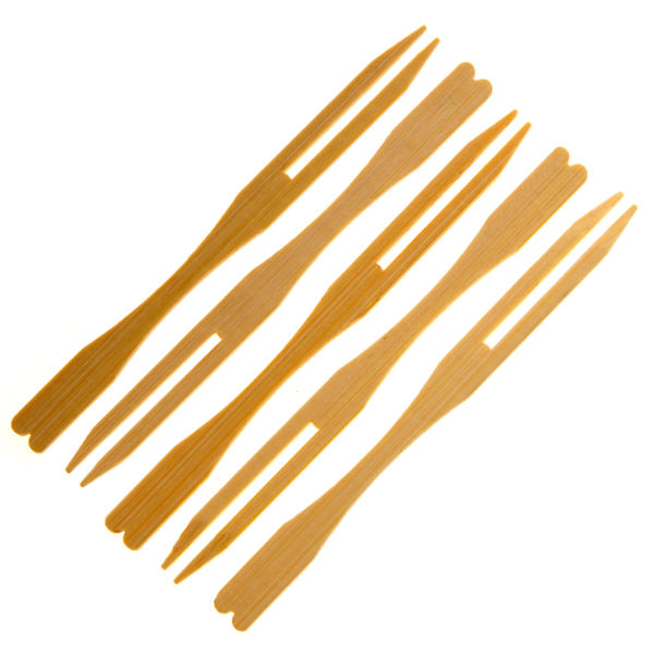 Bamboo Buffet Fork 9cm