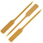 Bamboo White Skewer 9cm