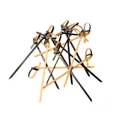 Black Looped Skewer 9cm