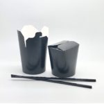 Leak-proof Mini Container black 16oz
