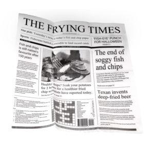 Newspaper Print Greaseproof paper