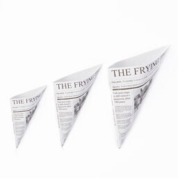 Newsprint Paper Cone