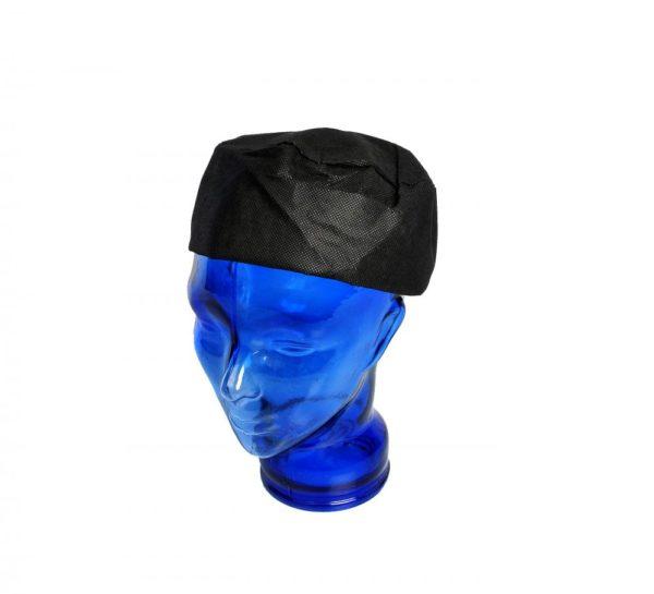 PAL Black Disposable Skull Cap