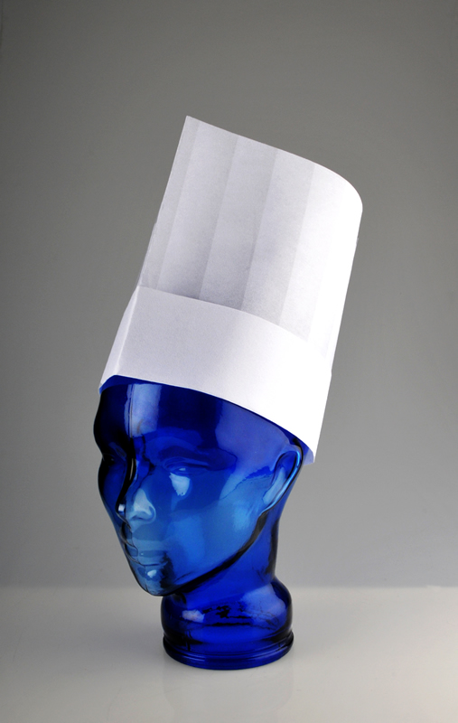 PAL 'Eurochef' Non-Woven Printed Pleat 9 Hat