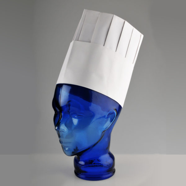 PAL 'Toque' Paper Pleated Chef Hat 8