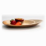 Palm Leaf Oval Plate