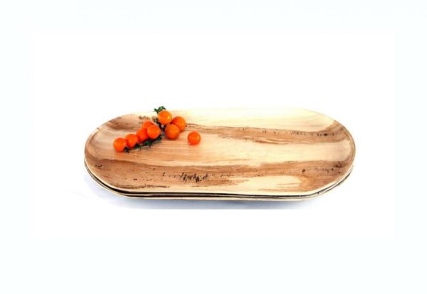 Palm Leaf Platter Large 44 x 29cm