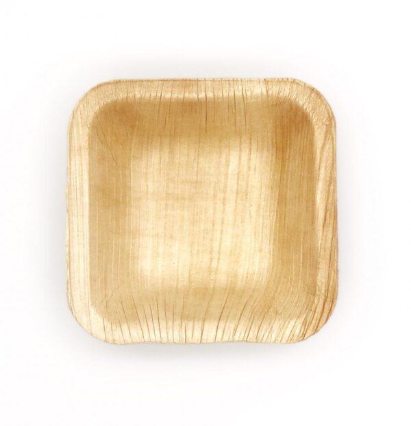 Palm Leaf Small Square Bowl 7.5cm