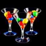 Plastic Mini Martini Cup