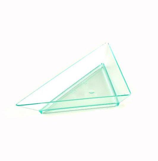 Small Green Triangle Dish