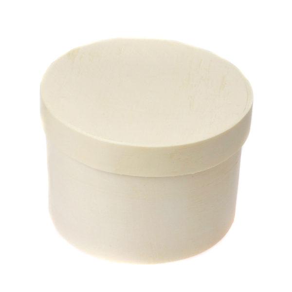 Small Round Wood Gift Box