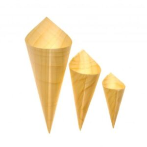 Wood Cones - 3 Sizes