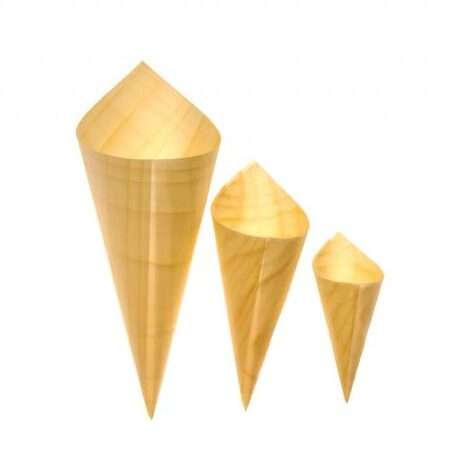 Wood Cones - 3 Sizes