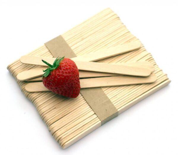 Wood Lolly Stick 12.5cm