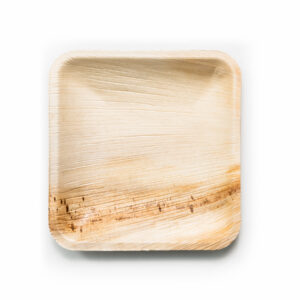 Palm Leaf Square Plates 11-25cm