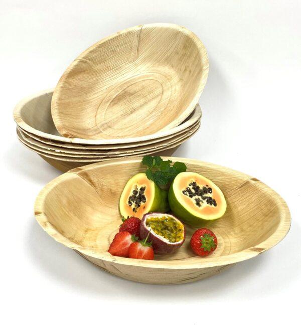Palm Leaf Large Serving Bowl 30cm