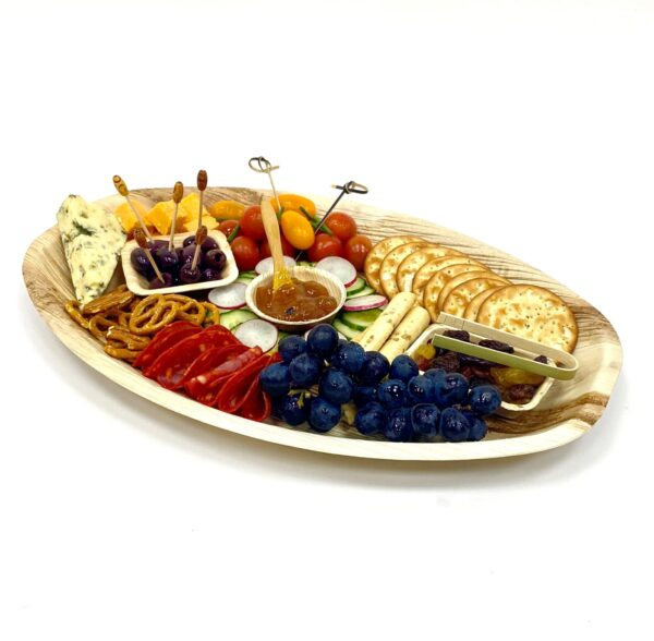 Palm Leaf Oval XL Platter 41x27cm