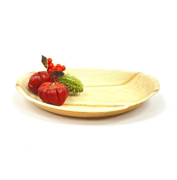 Palm Leaf Round Plate