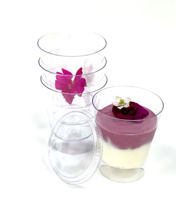 Large Round Cup + Lid 200ml